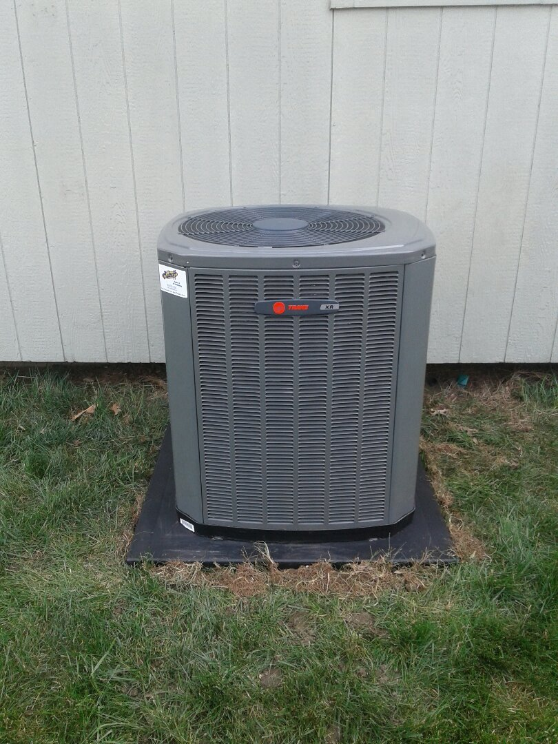 Raymore, MO - Install new Trane Furnace and AC unit