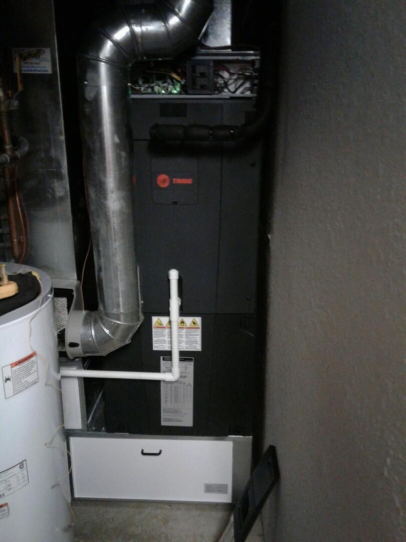 Peculiar, MO - Trane Air handler Heating maintenence