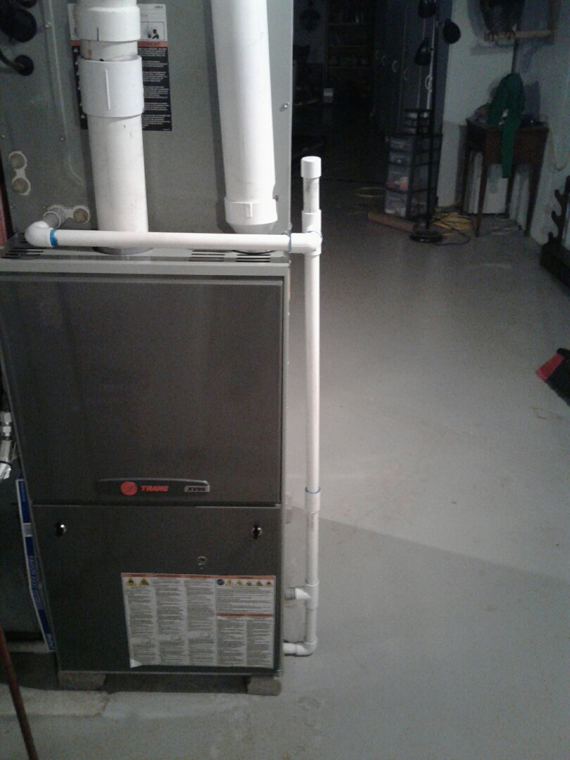 Pleasant Hill, MO - Perform maintenance on Trane furnace
