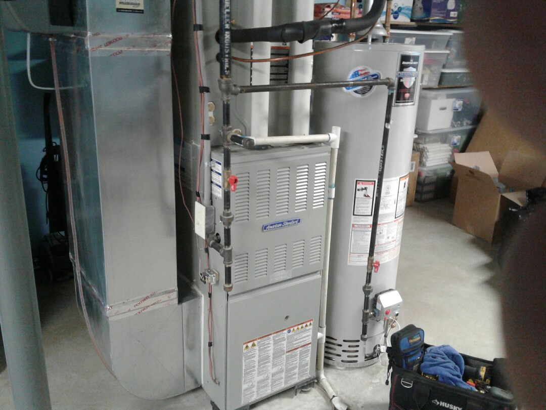 Belton, MO - Perform maintenance on Trane furnace