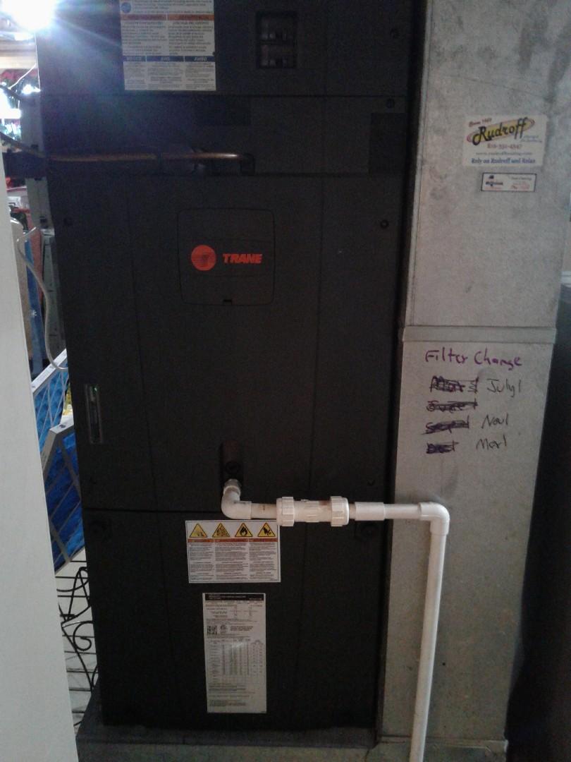 Peculiar, MO - Trane Air Handler and heat pump maintenance