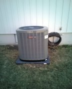 Harrisonville, MO - Install Trane furnace and AC
