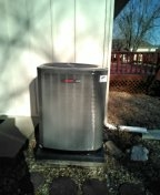 Raymore, MO - Install Trane furnace and AC unit