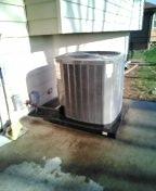 Belton, MO - Perform maintenance on Trane Air Conditioner