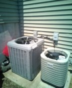 Raymore, MO - Installation of a Champion air handler and A.C.