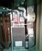 Lee's Summit, MO - Install high efficient Trane furnace and AC