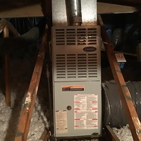 Enon, OH - Performed our Special Pre-Season Tune-Up and Safety Check on a 1999 Carrier Gas Furnace. System running as expected at this time.
