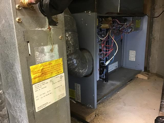 Huber Heights, OH - Provided an estimate to replace Bard furnace. Pictured below is the older unit.