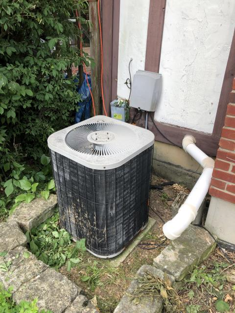 Fairborn, OH - I installed a new Five Star 16 SEER 3.5 Ton Air Conditioner