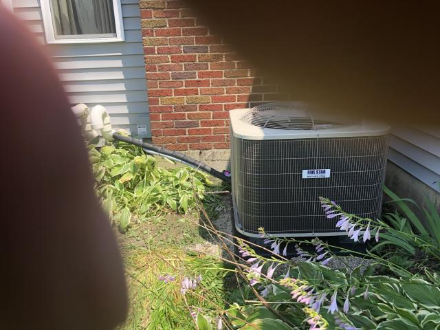 Huber Heights, OH - Installed Five Star furnace and AC to replace Concord system. The system is operating properly.