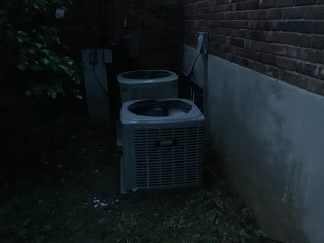 Trotwood, OH - Customer advised the 2006 Nordyne AC was not working properly. Outdoor unit was dirty and washed with hose.