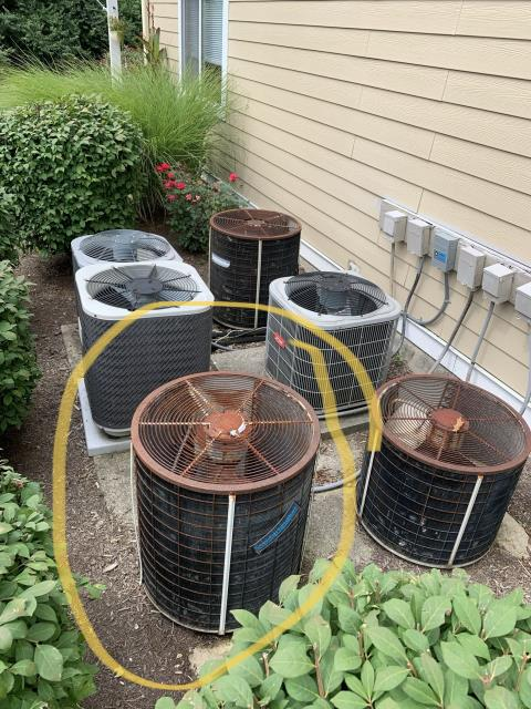 Centerville, OH - I provided an estimate for a new Five Star 13 SEER 2 Ton Air Conditioner