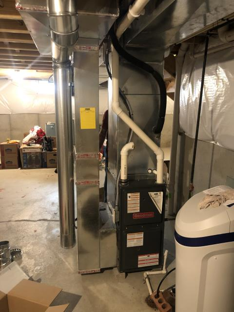 Springboro, OH - I installed a new  Aprilaire 500 Humidifier