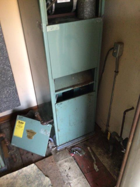 Springfield, OH - I provided an estimate for a new Carrier 80% 45,000 BTU Gas Furnace