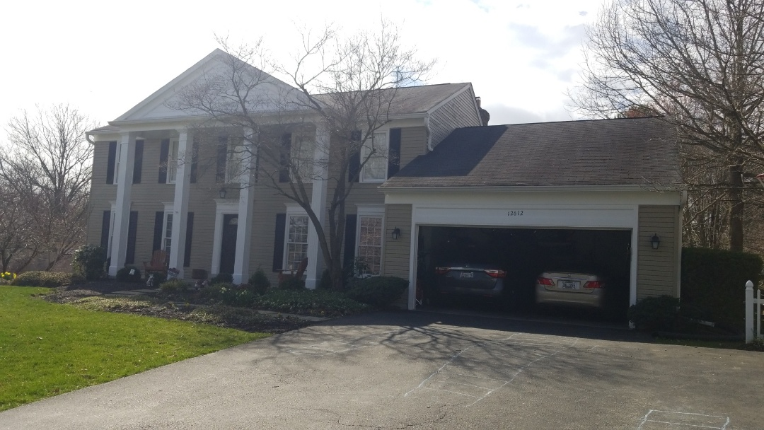 North Potomac, MD - Helping another homeowner through the homeowners insurance claims process to get them a new roof paid for by their insurance company less their deductible!