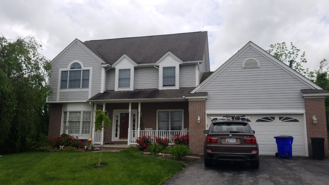 Thurmont, MD - Just giving another homeowner a no cost roof inspection to check for storm damage!