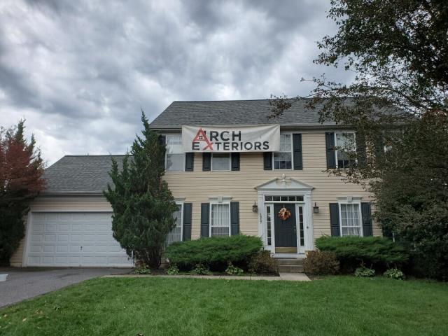 Marriottsville, MD - A great roof replacement for a happy customer in Marriottsville Maryland
