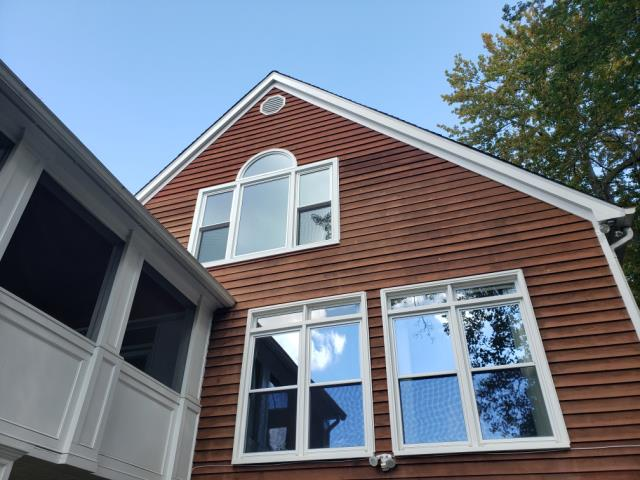 Falls Church, VA - These windows had broken seals. We replaced the with windows that have a lifetime seal failure warranty. Another happy customer in Falls Church Virginia