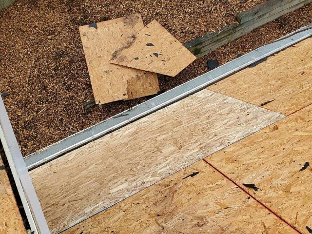 Fairfax, VA - Replacement of rotted plywood prior to complete roof replacement