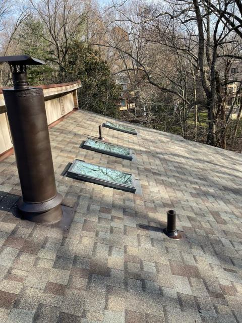 Bethesda, MD - Skylight replacement done with the full roof replacement