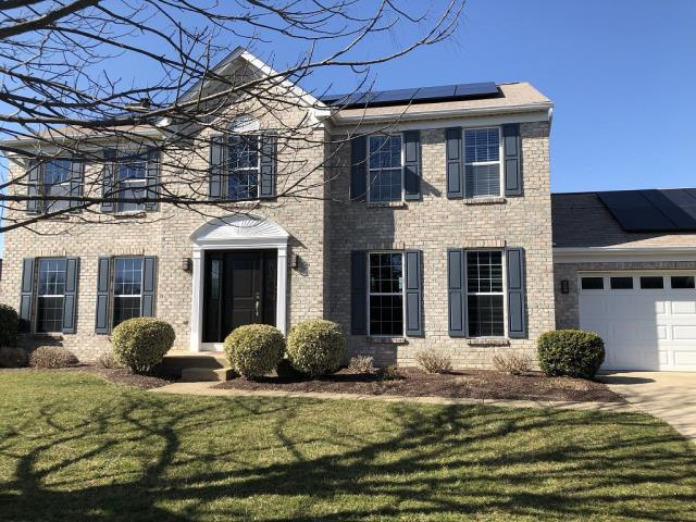 Westminster, MD - Beautiful new roof installed on home with solar panels