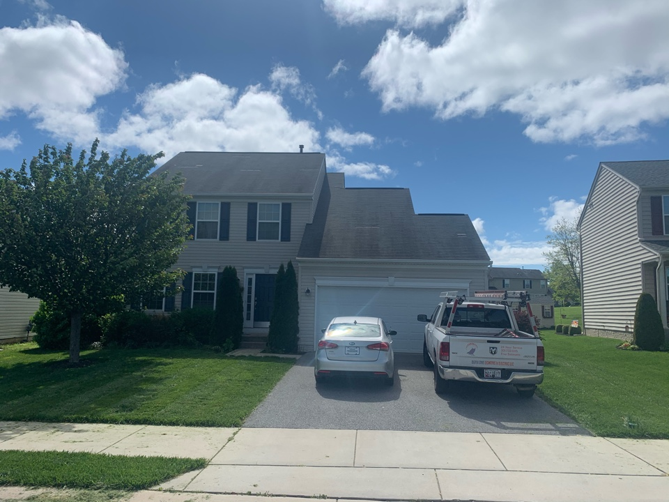 Hagerstown, MD - Filed a new wind damage claim with their insurance company! Awaiting for approval from insurance company!