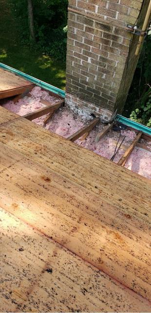 Clarksburg, MD - All plywood replaced during roof replacement to give peace of mind to homeowners