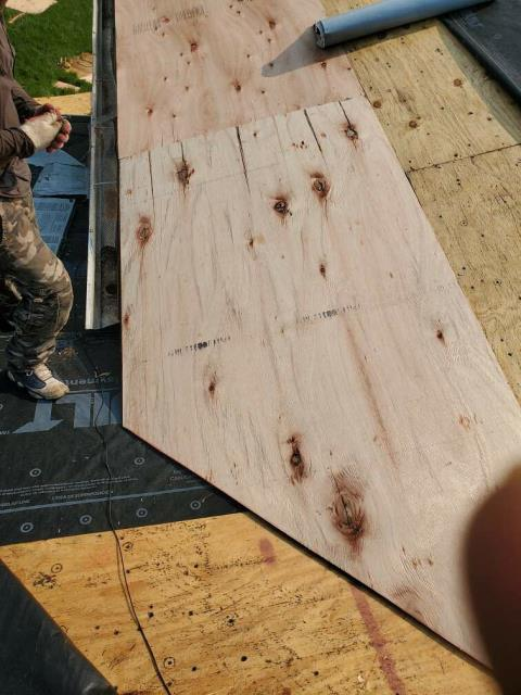 Beltsville, MD - Full roof replacement including plywood