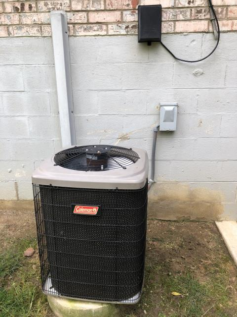 Dayton, OH - I installed a new Carrier 80% 70,000 BTU Gas Furnace--Carrier 13 SEER 2 Ton Air Conditioner
