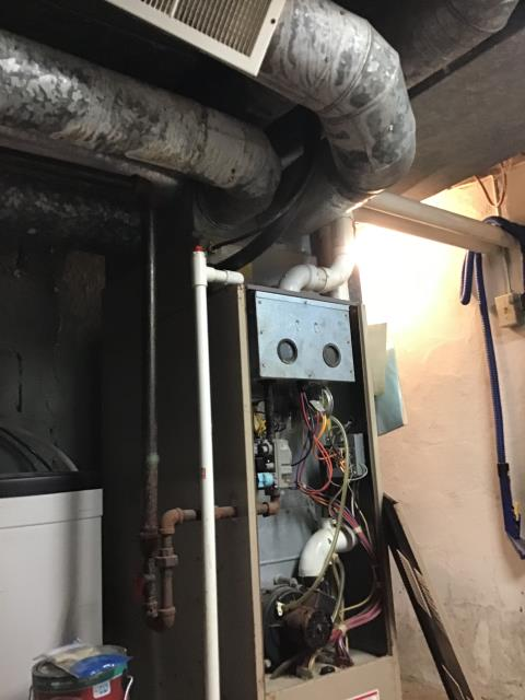 Dayton, OH - I installed a new Carrier 96% 60,000 BTU Gas Furnace--Carrier 16 SEER 2 Ton Air Conditioner