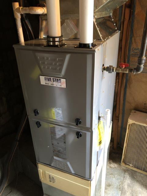 Moraine, OH - I installed a new e Star 96% Communicating 2 Stage Variable Speed 60,000 BTU Gas Furnace