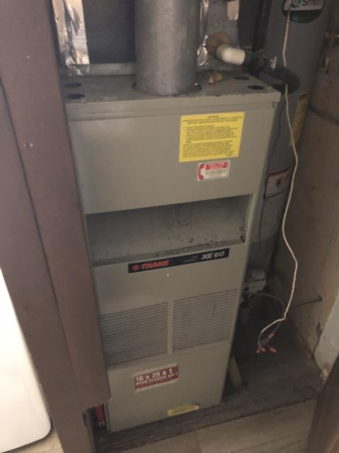 Miamisburg, OH - I provided an estimate for a new Five Star 80% 70,000 BTU Gas Furnace and a new Five Star 13 SEER 2.5 Ton Air Conditioner