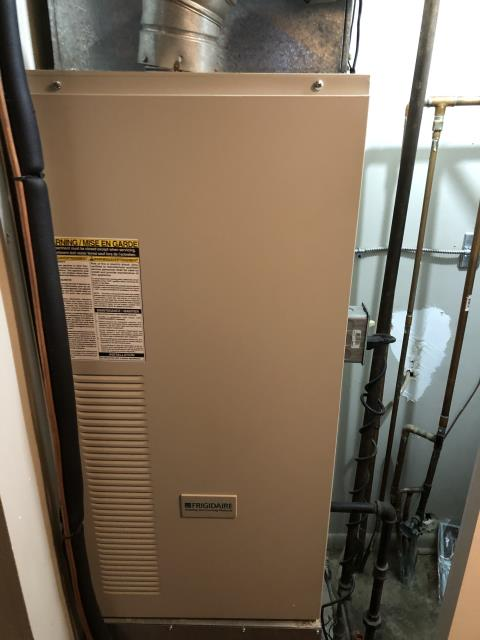 Centerville, OH - Ignitor has failed. Furnace is 22 years old. Client considering replacing furnace/needs to talk it over with wife. Showed client how to ignite furnace W/out ignitor being operational while he thinks about which rout he wants to go.