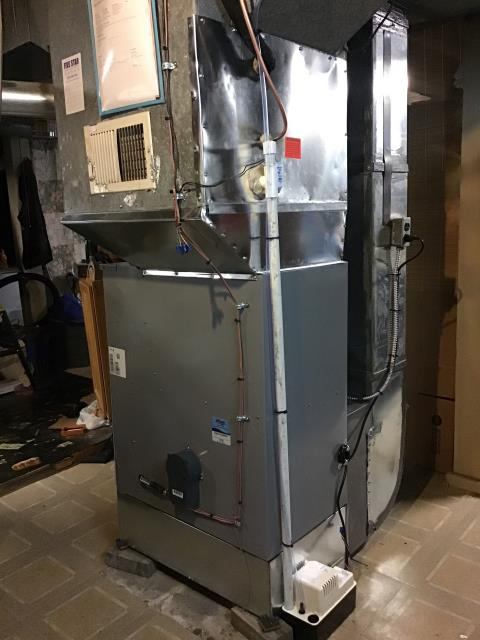Dayton, OH - I am Performing our Five Star Tune-Up & Safety Check on a  2020 Five Star  Gas Furnace.  All readings were within manufacturer's specifications, unit operating properly at this time.