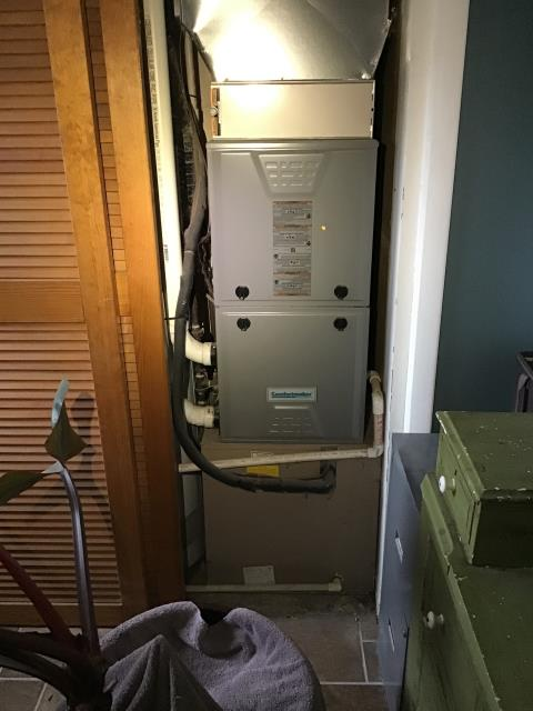 Yellow Springs, OH - I am Performing our Five Star Tune-Up & Safety Check on a  2013 Comfortmaker Gas Furnace.  All readings were within manufacturer's specifications, unit operating properly at this time.