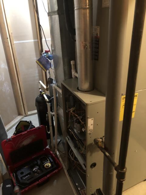 Huber Heights, OH - Performed tune-up on gas furnace. Found no issues with furnace.