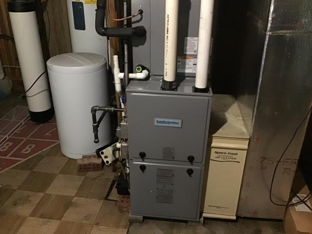 Beavercreek, OH -  I provided a gas furnace and safety check on a Five Star 95% 80,000 BTU Gas Furnace. Everything is in good working order.