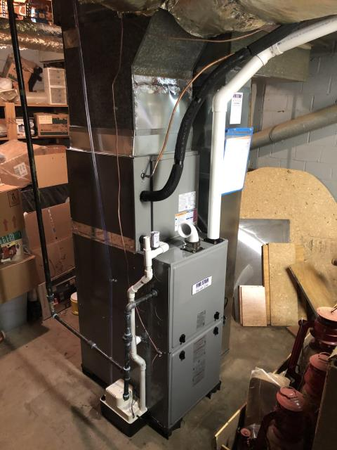 Dayton, OH - Upon inspection, the customer needed to have the company out that installed her hot water heater to fix the issue. I did not find a racoon in the customer's wall as she stated she did.