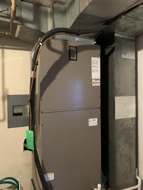 Dayton, OH - I replaced the electric strip heat package. I cycled the system to ensure everything is working. System is operational upon departure.