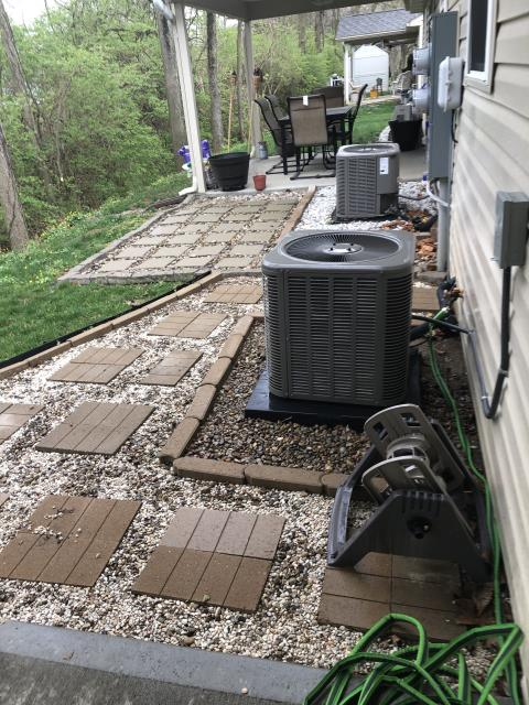 Springboro, OH - I performed a tune up on a Lennox Air Conditioner. Everything checked out within specs. System is operational upon departure.