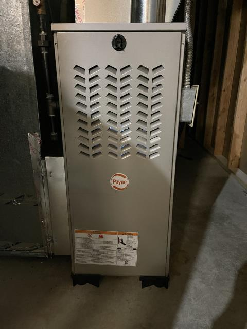 Kettering, OH - Upon inspection, I found the blower motor, capacitor, and blower wheel needed replaced. I informed the customer and will wait to hear from them if they want to move forward.
