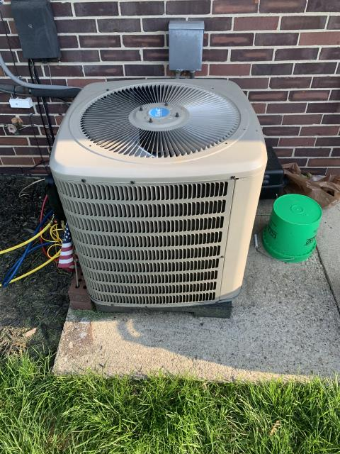 Centerville, OH - Upon inspection, I found the coil on the outside unit to be dirty and clogged and the filter on the indoor unit was clogged as well. I cleaned out the outdoor unit and customer will get new filter for indoor unit. System is operational upon departure.