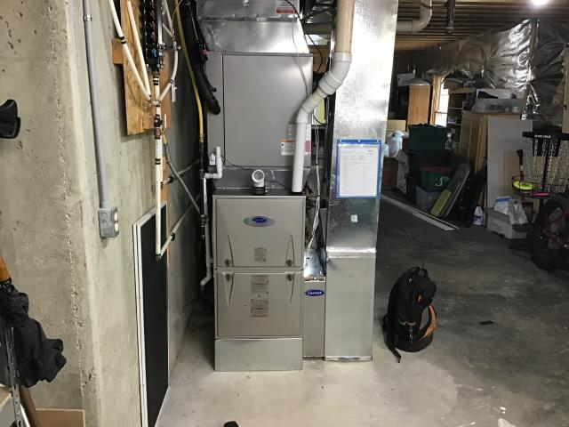 """Xenia, OH - I installed a Five Star """"Infinity Series"""" 96% Variable Speed Two-Stage and a Five Star """"Infinity Series"""" 19 SEER Variable-Speed 5 Ton Air Conditioner. System is set and customer is ready for the cooling season."""