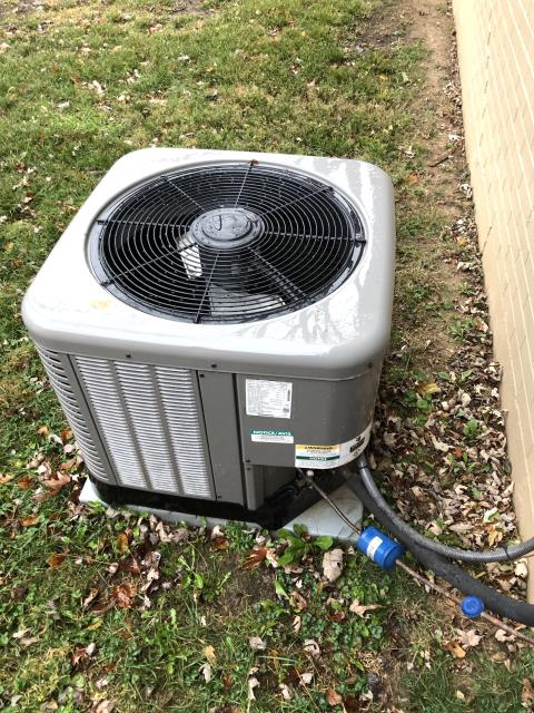 Centerville, OH - Upon inspection, I found there was a leak in the evaporator coil. I informed the customer and the would like to replace the coil. I will have office order part and they will schedule a time for us to come back out and install the part. System is not operational upon departure.