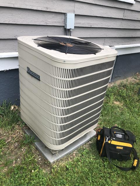 Dayton, OH - Upon inspection, I found the Heat Pump's reversing valve was unhooked, causing the system to run in heat mode when cooling mode was selected. I hooked up the valve and cycled the system multiple times to ensure functionality. System is operational upon departure.
