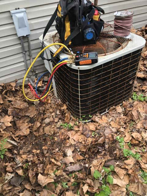 Huber Heights, OH - Upon inspection, I found the wire to the outdoor unit was cut in half. I replaced the wire and cycled the system with no issues. System is operational upon departure.
