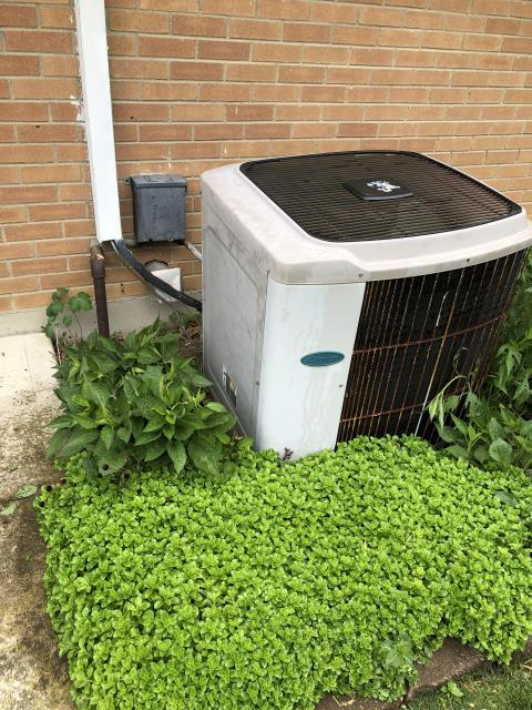 Dayton, OH - I performed a tune up on an A/C unit. I found the capacitor and contactor on the A/C could be replaced soon and informed the customer. I went over options with them and will wait to hear on if they want to move forward with that. System is operational upon departure.