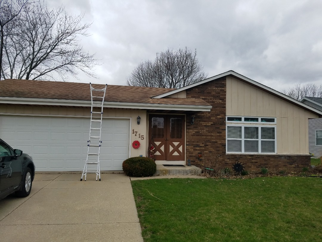 Did roof inspection if I owned wind and hail damage filing a claim with insurance company
