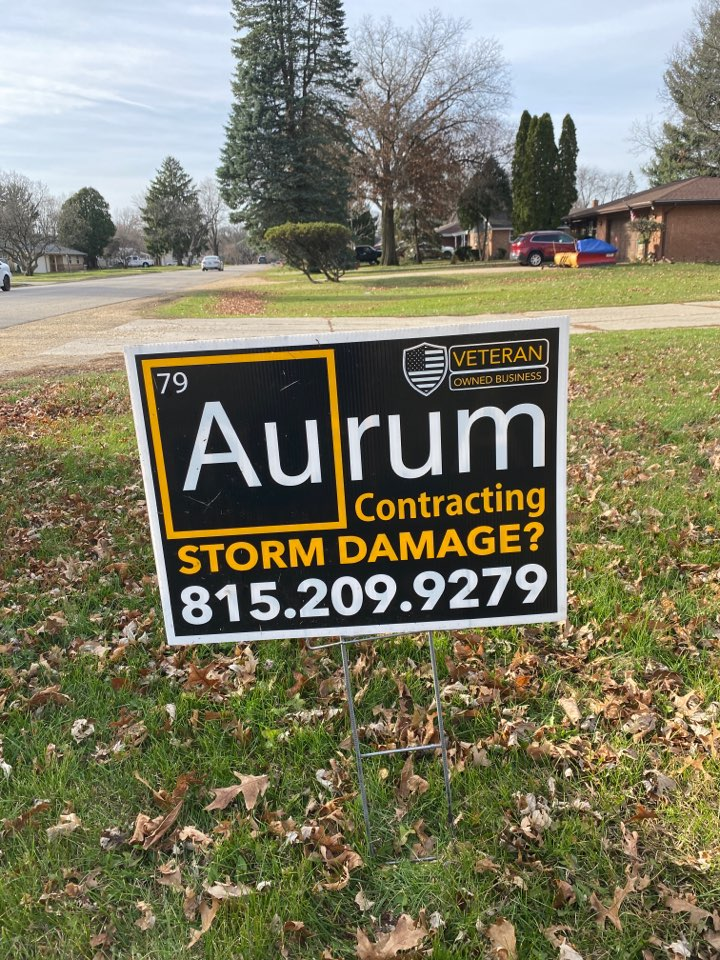 Get your claims approved with Aurum contracting. Free storm damage inspections. Hail damage, wind damage.
