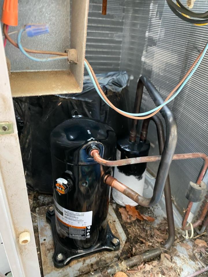 Replace compressor